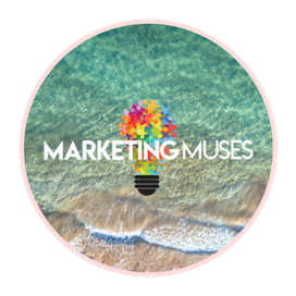 Marketing Muses Round Logo for Pop-up